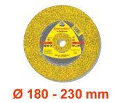 Trennscheiben / Schruppscheiben Ø 180 - 230 mm