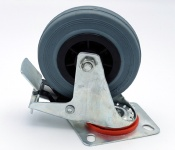 Swivel Rubber Castors