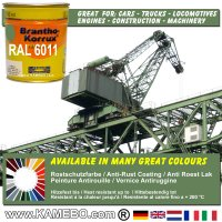 BRANTHO-KORRUX NITROFEST Korrosionsschutzlack RAL 6011 Resedagrün 750 ml