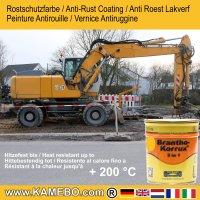 BRANTHO-KORRUX 3in1 Liebherr Gelb Baumaschinen Kit 1