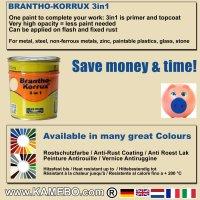 BRANTHO-KORRUX 3in1 RAL 1015 RAL 3009 Kit 1