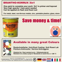 BRANTHO-KORRUX 3in1 RAL 9001 RAL 3009 Kit 1