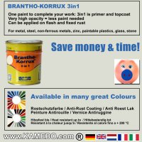 BRANTHO-KORRUX 3in1 RAL 9002 RAL 3009 Kit 1