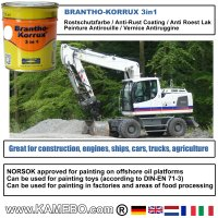 BRANTHO-KORRUX 3in1 RAL 9010 RAL 3009 Kit 1