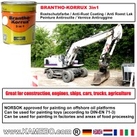 BRANTHO-KORRUX 3in1 RAL 9016 RAL 3009 Kit 1