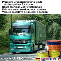 BRANTHO-KORRUX 2-KOMPO Rostschutzlack RAL 9010 Weiss 0,8 kg