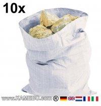 Schüttsäcke Steinesäcke 900 x 600 mm 10 Stück