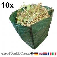 Großer Gartensack 360 Liter 10 Stück