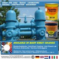 BRANTHO-KORRUX NITROFEST RAL 7035 S-GLASUR RAL 5012 Kit 1