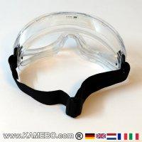 Arbeitsschutzbrille PSA Vollsichtbrille Chemie