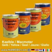 Rostschutzfarbe Kaelble Zugmaschinen / Macmoter Baumaschinen Gelb