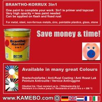 BRANTHO-KORRUX 3in1 RAL 3020 RAL 7035 Kit 2