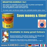 BRANTHO-KORRUX 3in1 RAL 5015 RAL 7035 Kit 2