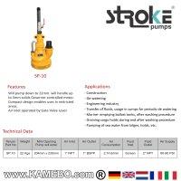 STROKE Druckluft Tauchpumpe SP-10