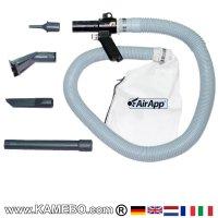 AirApp Pneumatischer Nass- und Trockensauger PB10