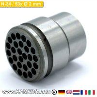Nadelplatte 2 mm für TERYAIR Nadelentroster N-24