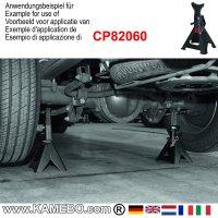 CHICAGO PNEUMATIC Unterstellbock für Autos CP82060 6 Tonnen 2 Stück