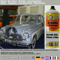 BRANTHO-KORRUX 3in1 Rostschutzlack RAL 7038 Achatgrau Spray 400 ml