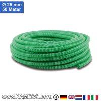 PVC-Spiralschlauch für Pumpen 25mm 50 Meter