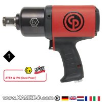 CHICAGO PNEUMATIC Druckluft Schlagschrauber CP6778EX-P18D ATEX