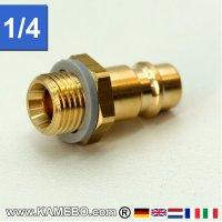 Druckluft Euro Stecknippel AM028 1/4