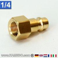 Druckluft Euro Stecknippel AM031 1/4