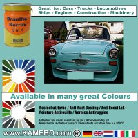 BRANTHO-KORRUX 3in1 Rostschutzfarbe RAL 6027 Lichtgrün 5 Liter