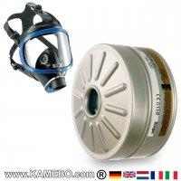 Dräger X-plore® 6300 Atemschutzvollmaske mit 1 Filter