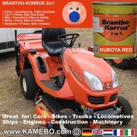BRANTHO-KORRUX 3in1 Kubota Rot Baumaschinen Kit 1