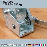 Handwinde TWZ-1200 550 kg
