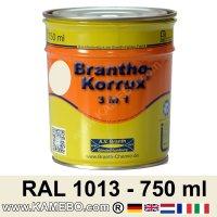3in1 Militärlack Seidenglänzend RAL 1013 Perlweiß 750 ml