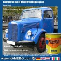 BRANTHO-KORRUX 3in1 Rostschutzlack RAL 5017 Verkehrsblau 750 ml