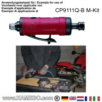 CHICAGO PNEUMATIC Mini Straight Air Die Grinder CP9111Q-B M-Kit