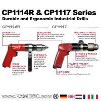 Chicago Pneumatic Druckluft-Bohrmaschine CP1117P05 ATEX