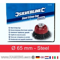 Steel Crimp Cup Ø 65 mm