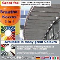 BRANTHO-KORRUX 3in1 Rostschutzfarbe RAL 7040 Fenstergrau 5 Liter