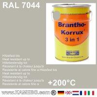 BRANTHO-KORRUX 3in1 Rostschutzfarbe RAL 7044 Seidengrau 5 Liter