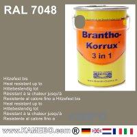 BRANTHO-KORRUX 3in1 Rostschutzfarbe RAL 7048 Perlmausgrau 5 Liter