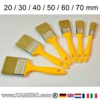 Flachpinsel Sortiment 6 Stück