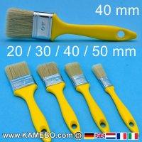Flachpinsel 20 mm 30 mm 40 mm 50 mm