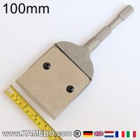 Teryair Schaber mit Stahlklinge 100 mm