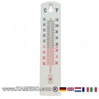 Kunststoff-Thermometer Wandthermometer