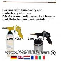 Hohlraumsonde für VAUPEL 2000 HGS 2100 AGS/KGS/KK