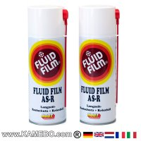FLUID FILM AS-R Rostschutzöl Sprühdose 400 ml 2 Stück