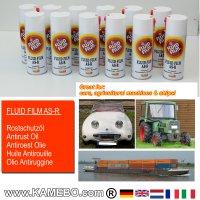 FLUID FILM AS-R Rostschutzöl Sprühdose 400 ml 12 Stück