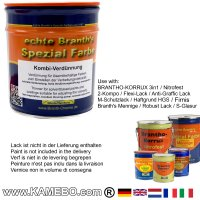 BRANTH's Kombi Verdünnung 750 ml
