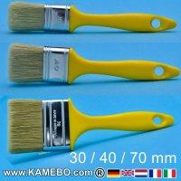 Pinsel 30 mm 40 mm und 70 mm