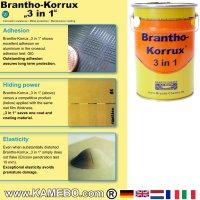 BRANTHO-KORRUX 3in1 Rostschutzlack RAL 9016 Verkehrsweiss 5 Liter