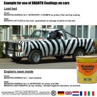 BRANTHO-KORRUX 3in1 Rostschutzlack RAL 9010 Weiss 750 ml