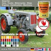 BRANTHO-KORRUX 3in1 Rostschutzlack RAL 7023 Betongrau 5 Liter